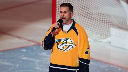 Dennis K. Morgan was insulted by the Predators' decision to replace him with country music acts as the national anthem singer in the playoffs.