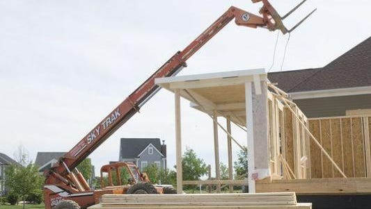 """Canton's housing market has been described as """"red hot"""" by township Supervisor Pat Williams."""