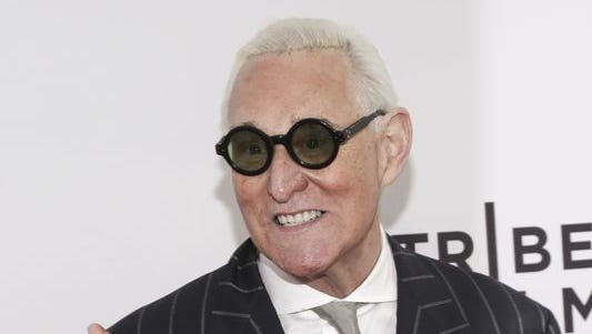 Roger Stone -- friend and adviser to Donald Trump