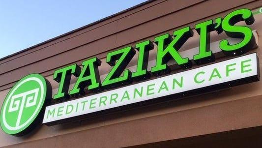 A Taziki's Mediterranean Cafe may be opening in Kenwood.