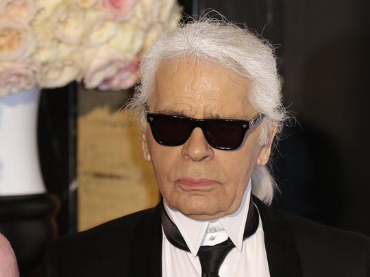 France Obit Lagerfeld