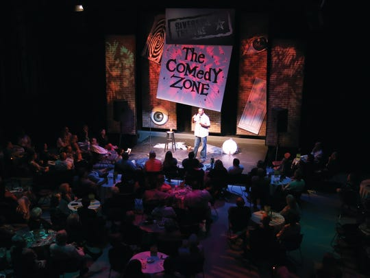 Every other Friday and Saturday from May to December, Riverside Theatre in Vero Beach has two comedy shows both nights on its intimate Waxlax Stage.