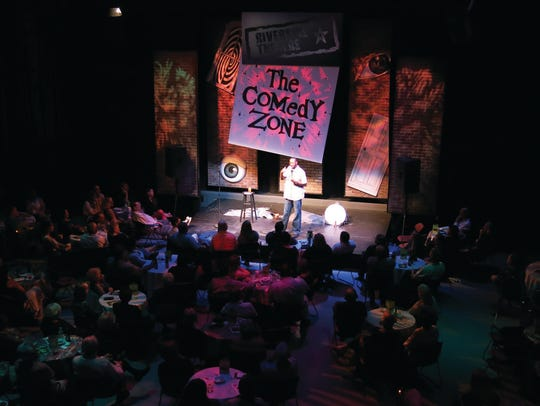 The Comedy Zone Experience's Holiday Nights are this weekend and next weekend at Riverside Theatre in Vero Beach.