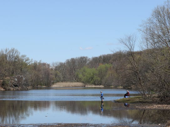 Passaic County is dredging Barbour's Pond in the Garret