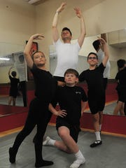 Ventura County Ballet Company instructor Brett Weidlich