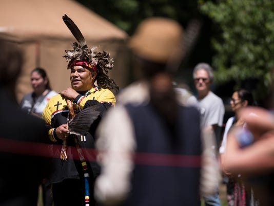 Ramapough Unity And Tobacco Ceremony