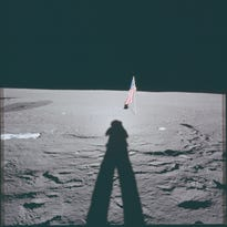 This photo is one of the more than 8,400 images released by NASA as part of their Project Apollo Archive.