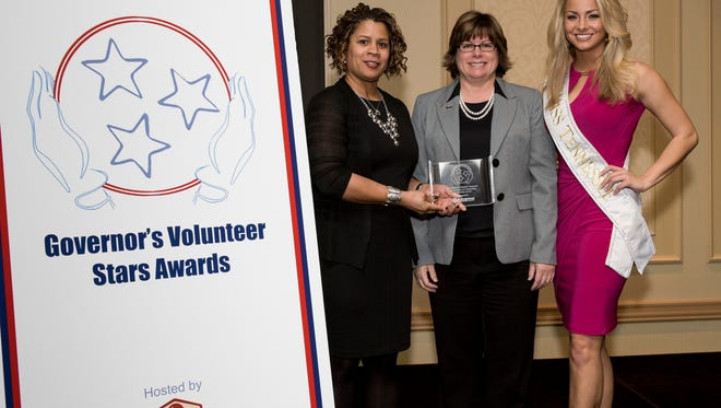 Volunteers from 53 counties will be honored at the ninth annual Governor's Volunteer Stars Awards ceremony at the Franklin Marriot Cool Springs in Franklin on Feb. 12. The awards ceremony will celebrate the efforts of 84 volunteers statewide who have strived to improve communities through service.