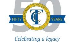 TCC Fifty years logo
