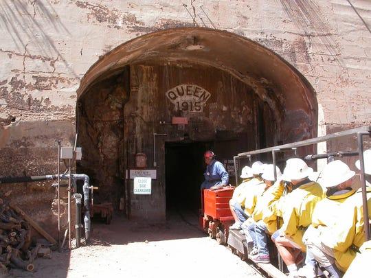 Queen Mine Tours in Bisbee.