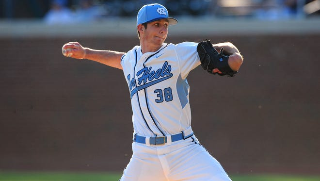 Zac Gallen enjoyed a solid three-year run at North Carolina. The Bishop Eustace Prep graduate was drafted by the Cardinals in the third round Friday.