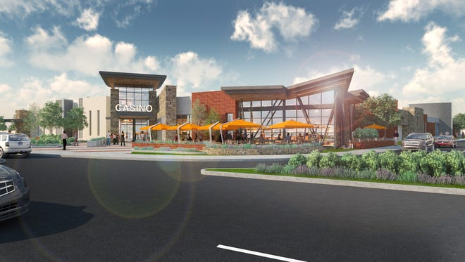 This is a rendering of the casino Station Casinos is planning to build at the corner of South Virginia Street and Kietzke Lane.
