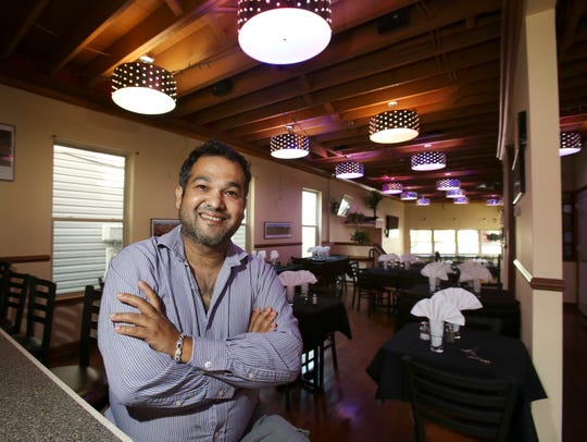 Teknath Niraula is co-owner of the new Himalayan Restaurant