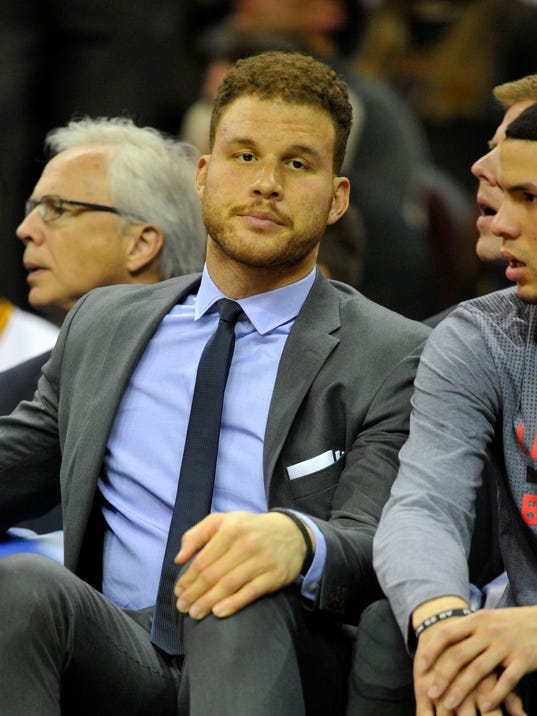 USP NBA: LOS ANGELES CLIPPERS AT CLEVELAND CAVALIE S BKN USA OH