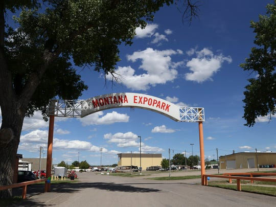 Gates will be locked at Montana ExpoPark because of a decision by Cascade County to send non-essential employees home due to the coronavirus.