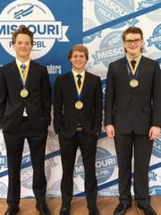The Logan-Rogersville team will got to national competition.