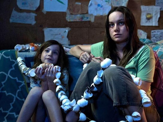 "Jacob Tremblay and Brie Larson star in ""Room."""