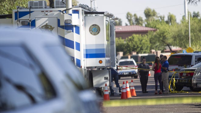 Two women were fatally shot near First and 75th streets in Scottsdale on June 1, 2018.