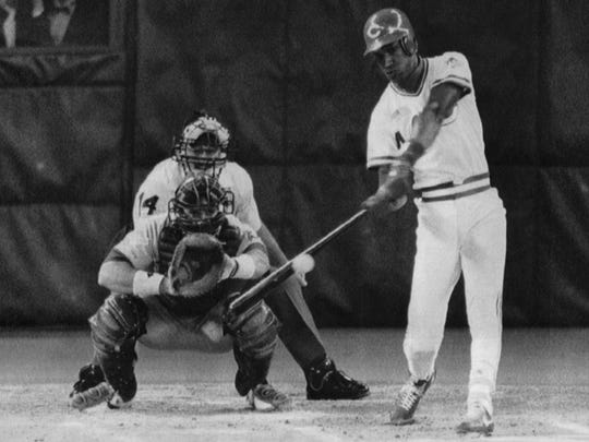 Eric Davis' first-inning home run set the tone for the 1990 World Series.