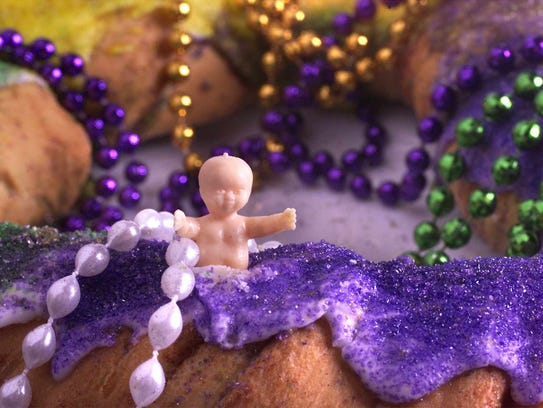 Little plastic babies are traditionally baked inside