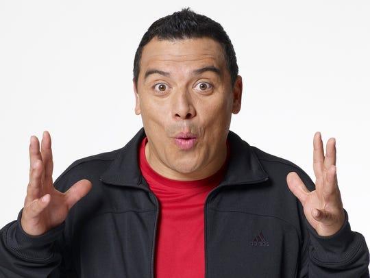 Comedian Carlos Mencia will headline June 28-30 at the El Paso Comic Strip.