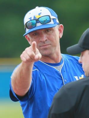 Wren baseball head coach Randy Thompson.
