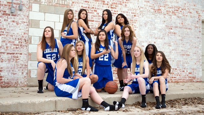 The Carlsbad girls basketball team is currently 25-2. The Cavegirls are the No. 4 seed in the 2016 U.S. Bank 6A State Tournament and will host No. 13 seed Clovis in the first round at 7 p.m. Friday.