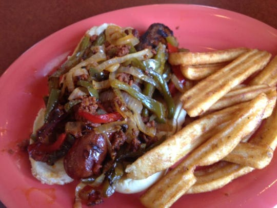 The Mexican Dog from Sammy Craft Burgers and Beers. (Photo: File photo)