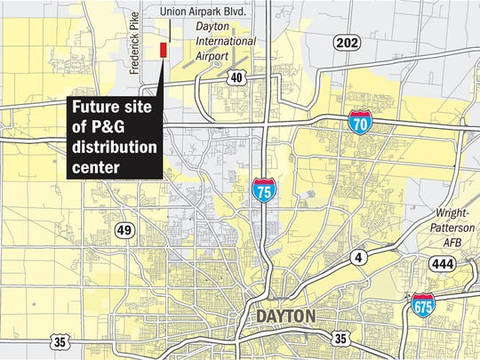P&G to create 800 jobs at new Dayton-area warehouse