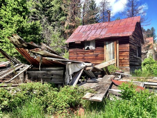 Granite Ghost Town State Park, near Philipsburg, was once a booming mining town with some 3,000 residents.