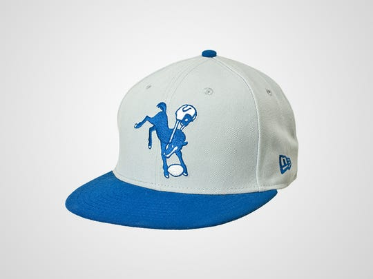 Colts New Era 59FIFTY On Field Classic Hat, $38