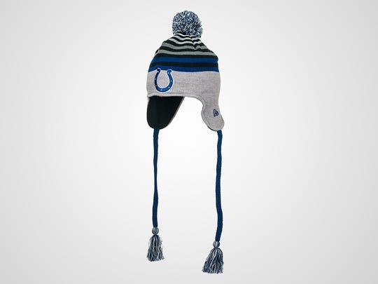Colts New Era Stripe Top Knit Hat, $30