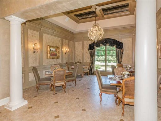 Garden Walk Dining: Hot Property: $3.5M French Mansion In Fishers
