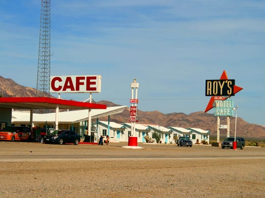 Roy's Motel and Cafe has become an icon of Route 66. The Okura family hopes to restore it and open it to the public.
