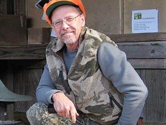 Deer hunter Alan Houston.