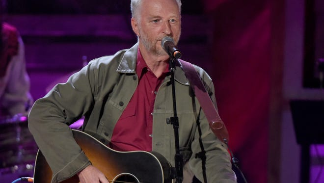 Billy Bragg performs at the 2016 Americana Music Honors and Awards Show at Ryman Auditorium Wednesday, Sept. 21, 2016, in Nashville, Tenn.