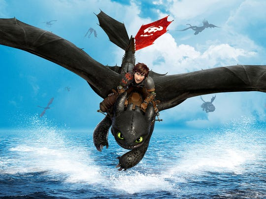 "Hiccup and his dragon, Toothless, are back in ""How to Train Your Dragon 2."""
