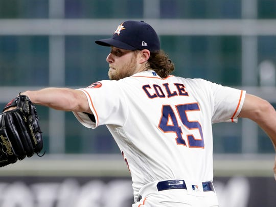 Gerrit Cole could help the Astros to another 100-win season.
