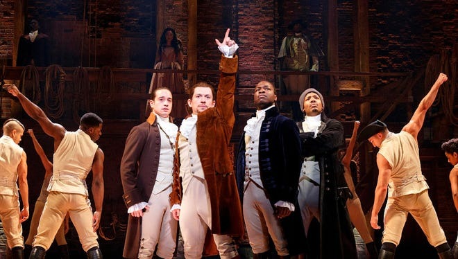 """The Chicago production of """"Hamilton"""" is attracting a strong contingent of Wisconsin theater-goers."""