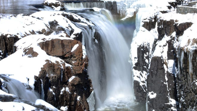 The Great Falls in Paterson.
