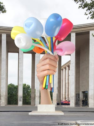 "Internationally celebrated artist and York native Jeff Koons is donating his sculpture ""Bouquet of Tulips"" to France in memory of the victims of the 2015 terrorist attacks in Paris. The sculpture will be installed in front of the Museum of Modern Art and the Palais de Tokyo in 2017."
