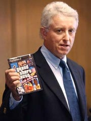 """Jack Thompson, a Florida lawyer, thinks violent video games function as """"simulators"""" for people who go on to commit violent crimes"""