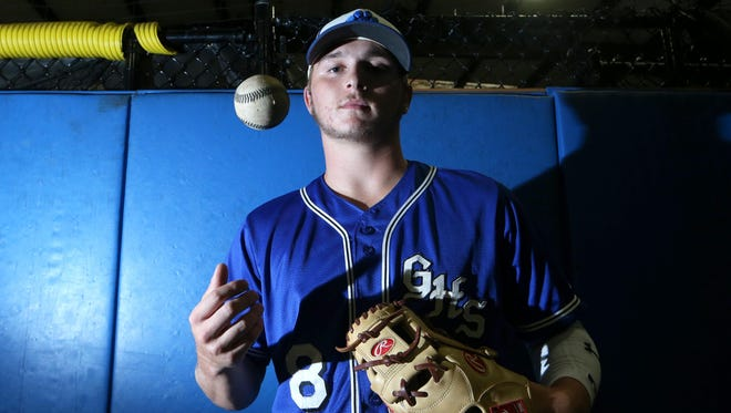 Godby senior shortstop and pitcher Logan Lacey is the 2017 All-Big Bend Player of the Year in baseball after hitting .438 BA with four home runs, an area-best 16 doubles while driving in 25 runs. Lacey also was 4-4 as a pitcher with a 1.66 ERA and an area-best 135 strikeouts in 63 innings pitched.