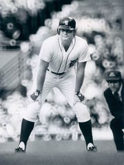 Rusty Staub playing for the Tigers on May 12, 1978.