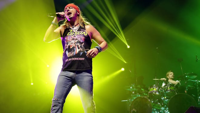 Poison vocalist Bret Michaels and his solo band will play a sold-out concert at Springfest in Ocean City on Saturday, May 5.