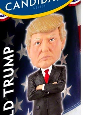 This bobblehead of President-Elect Donald Trump can be bought at the White House Gift Shop for $29.