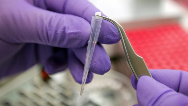 Diffinity Genomics develops DNA testing products for applications in the Life Sciences industry. They make the Diffinity RapidTip functional pipette tip that contains everything needed for PCR purification. The technology used was developed at the University of Rochester.