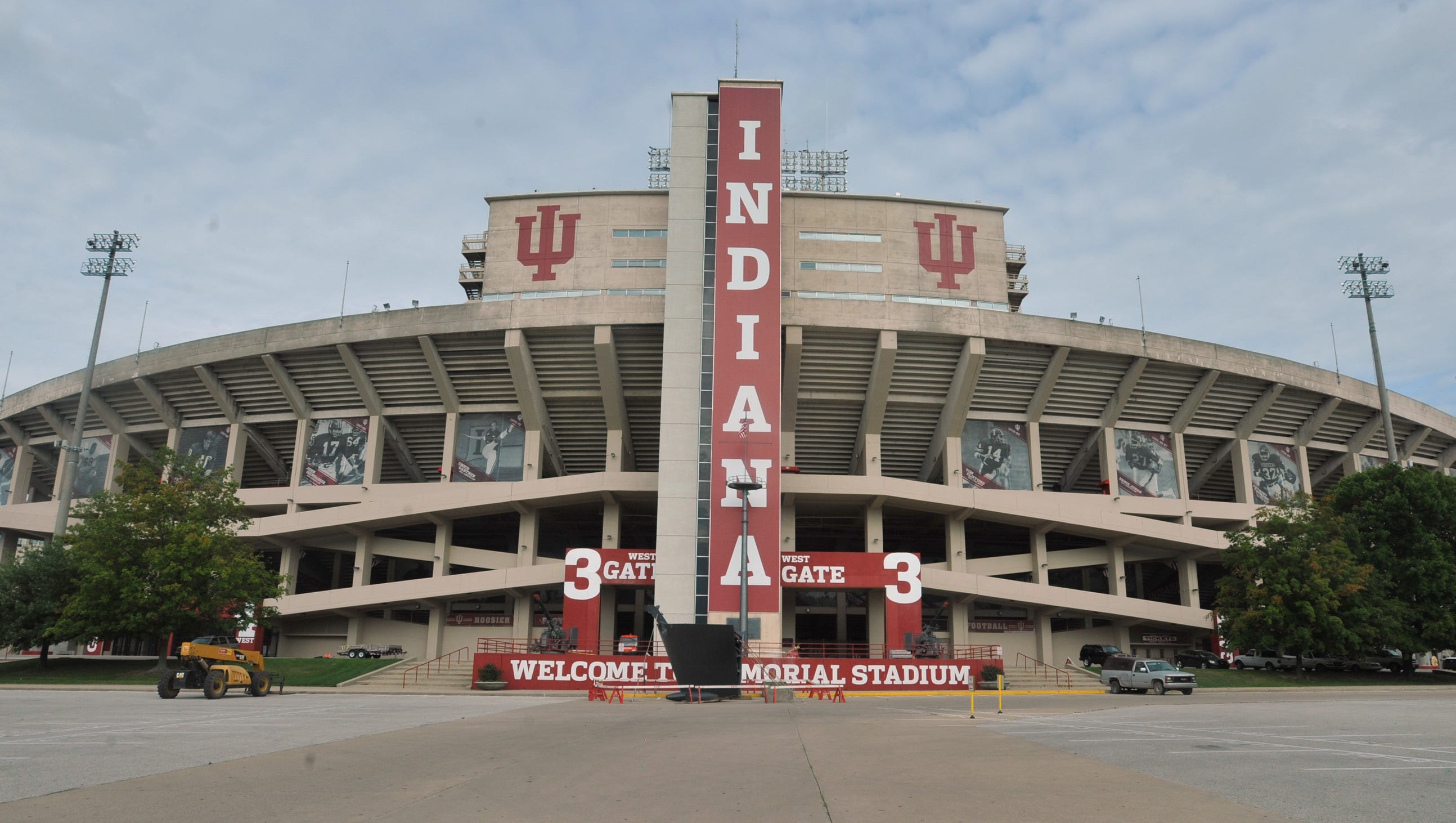 Traffic advice if you're headed to IU football games