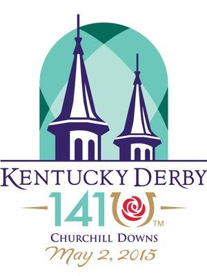 2015 Kentucky Derby logo.