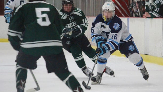Corey Clifton (22) of CBA